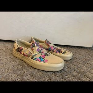 BNWOB women's slip on vans. Size 6.5
